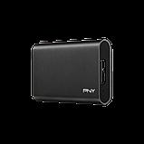 НОВИЙ зовнішній SSD PNY 480 ГБ, 400/430 МБ/с, USB 3.1, фото 3