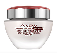 "Anew Avon Дневной крем для лица ""Совершенство"" с технологией Protinol SPF 25, 50 мл"