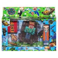 "Герои ""Minecraft"", вид 2, майнкрафт,minecraft,лего,конструкторы майнкрафт"