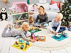 Набір дерев'яних меблів та ляльок PLAYTIVE® Німеччина, фото 4