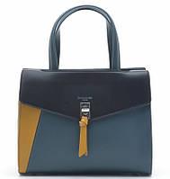 Женская сумка D.Jones 6410-2 peacock blue, женские сумки оптом David Jones (Дэвид Джонс) Одесса 7 км, фото 1