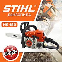 Бензопила STIHL MS 180 (шина 35 см, 1.5 кВт) Цепная пила Штиль MS 180