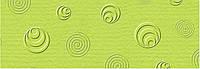 """Картон дизайнерский тисненый """"Ретро"""" 220г 23х33см ЗЕЛЕНЫЙ СВЕТЛЫЙ"""