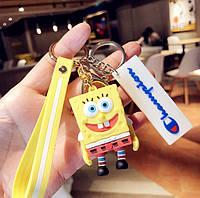 Брелок на рюкзак, ключи Губка Боб