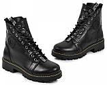 Ботинки подростковые для девочки из натуральной кожи от производителя модель МАК135, фото 2