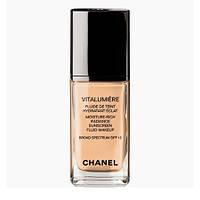 Chanel Vitalumiere Satin Smoothing Fluid - Chanel Крем тональный Шанель Виталюмьер Сатин увлажняющий с эффектом сияния (для нормальной, сухой кожи)