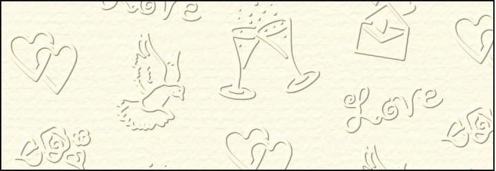 """Картон дизайнерский тисненый """"Свадебный"""" 220г 23х33см СЛОНОВАЯ КОСТЬ"""