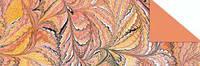 """Картон дизайнерский цветной """"Искусство"""" 220г 20Х30см ОРАНЖЕВЫЙ"""