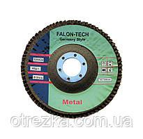 """Круг лепестковый шлифовальный торцевой  """"Falon-Tech""""  125x22 р40 T29 (конический профиль)"""
