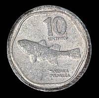 Монета Филиппин 10 сентимо 1989 г. Пандака карликовая