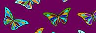 Картон дизайнерский цветной 300г 20х30см БАБОЧКИ