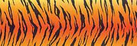 Картон дизайнерский цветной 300г 20х30см ТИГР