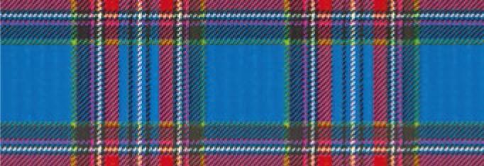 Картон дизайнерский цветной 300г 20х30см ШОТЛАНСКАЯ КЛЕТКА КРАСНО-СИНЯЯ