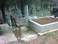 Благоустройство мест захоронения, качественно.