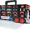 Трейлер Перевозчик авто Грузовик с ручкой , длина 62 см, 3+ Dickie Toys Truck Carry Case 3749023, фото 3