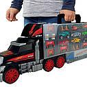Трейлер Перевозчик авто Грузовик с ручкой , длина 62 см, 3+ Dickie Toys Truck Carry Case 3749023, фото 2