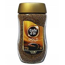 Кава розчинна Cafe d'or Gold 200 г у скляній банці