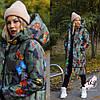 Женская длинная зимняя молодежная  куртка-пуховик. Цвета!
