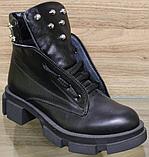 Ботинки женские зимние кожаные от производителя модель ВЛ11, фото 2