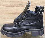 Ботинки женские зимние кожаные от производителя модель ВЛ11, фото 3