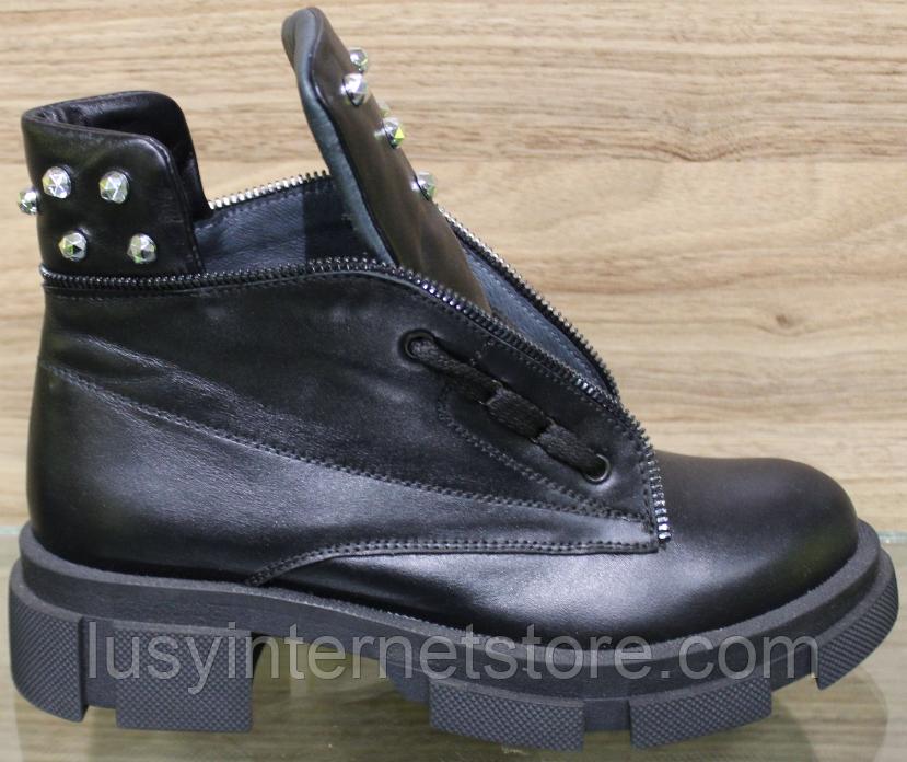 Ботинки женские зимние кожаные от производителя модель ВЛ11