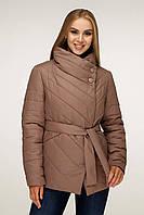 Демісезонна жіноча курточка з плащовки, фото 1