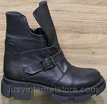 Черевики жіночі зимові шкіряні від виробника модель ВЛ12
