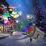 Светодиодный лазерный проектор с рождественским узором, фото 2