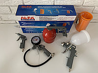 Набор пневмоинструмента для компрессора Al-Fa ALATK5 ( 5шт )