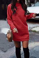 Платье женское туника  с манжетом стильно модно 42 44 46 48 50 Р, фото 1