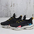 Модные кроссовки женские спортивные черные BaaS Стильные повседневные демисезонные кроссовки размер 36 - 41, фото 4