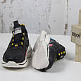 Модные кроссовки женские спортивные черные BaaS Стильные повседневные демисезонные кроссовки размер 36 - 41, фото 3