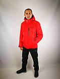 Красная мужская куртка, фото 4