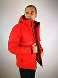Красная мужская куртка, фото 10