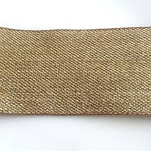 Лента золотое плетение. Ширина 7 см. Отрез 20 см