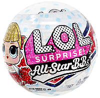 Кукла ЛОЛ Черлидеры 2-я серия Оригинал All Star BBs Series 2 Cheer Team (571780), фото 1