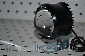Дополнительная светодиодная LED фара ЛИНЗА 10/20W12-80V