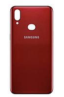 Задняя крышка для Samsung A107F Galaxy A10s 2019, красная