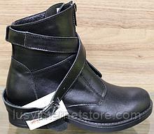 Чоботи зимові зі шкіри на платформі від виробника модель ВЛ17