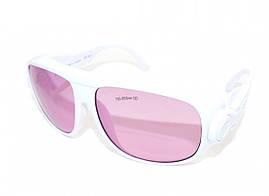 Очки защитные LSG-11 оправа 1 190-380 и 750-860 nm. O.D.4+ для лазера диодного, александрит, Ю.Корея