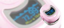 Пульсоксиметр CMS50QB двухцветный с LED дисплеем для детей CONTEC