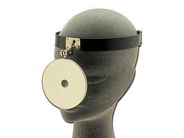 Рефлектор лобный Ziegler c жестким оголовьем, диаметр 90 мм, Италия
