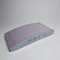 Пилка для ногтей лодочка OPI 180/240 25 шт - Пилки для натуральных ногтей - Пилка 180 240 - Пилочка opi