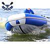 Моторная лодка с надувным дном Sport Boat N 290 LD NEPTUN (дно НДНД) трехместная лодка ПВХ под мотор Спорт Бот, фото 2