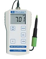 Професійний PH-метр Milwaukee MW102 - Food (0.02 pH) (м'ясо, фрукти, овочі, сир, рідкі середовища),США