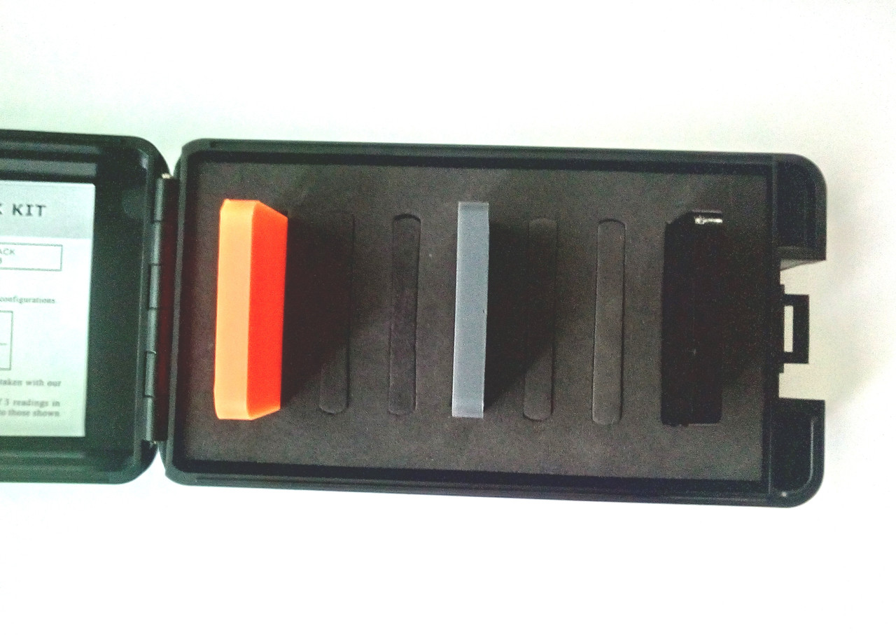 Комплект мер твёрдости Шора тип D (3 шт. HD)
