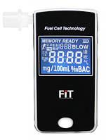Специальный алкотестр FiT303 LC с электрохимическим датчиком,LCD дисплеем,часами,памятью