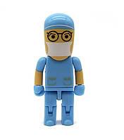USB флешка Хирург на 32 Гб, синий, USB 2.0, фото 1
