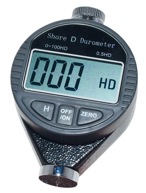 Цифровой твердомер ( дюрометр ) Шора модель 5610D, шкала 0 - 100