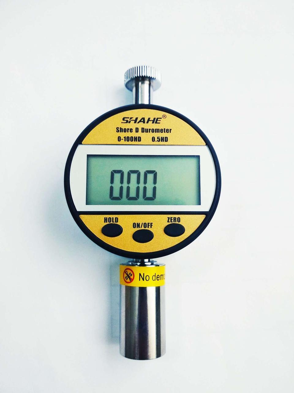 Цифровой твердомер ( дюрометр ) Шора D модель LXD-D, шкала HA 0-100